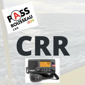 CERTIFICAT RESTREINT DE RADIOTELEPHONISTE CRR PASS 6 mois